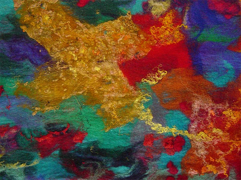 39 Celebration 39 Detail Contemporary Abstract Textile Art